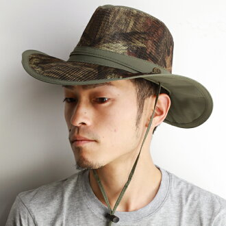 Adventure Hat mens military hats with Hat camouflage pattern mossyoak spring summer hats Western hats mesh material permeability of excellent cool Hat khaki infinity [adventure hat]