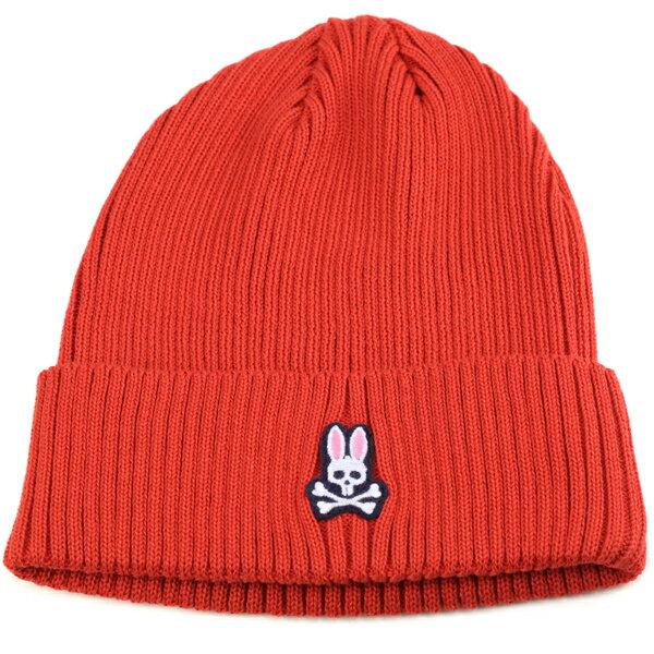 Psycho Bunny メンズ ニット帽 サイコバニー レディース サマーニット ワッチ 春夏 サイコバニー サマーニット帽 カジュアル ファッション コーデ おしゃれ うさぎ 帽子 ブランド ニット 赤 レッド [beanie cap] [knit cap]