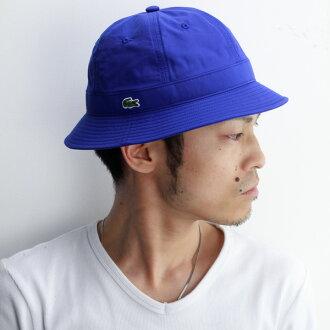 拉科斯特帽子人地铁帽子人春天夏天拉科斯特女士帽子CN天气船员帽子lacoste帽子体育户外绅士帽子hat鳄鱼名牌日本制造蓝色蓝[campobello hat]父亲节