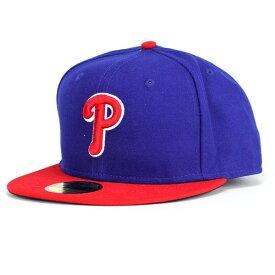 NEWERA キャップ メンズ ニューエラ new era 59FIFTY MLB AUTHENTIC フィラデルフィア・フィリーズ オルタネイト [ baseball cap ] MLB ベースボールキャップ おしゃれ 男性 帽子 ブランド ファッション 小物