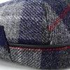 KASZKIET Cap Harris Tweed Hat Cap fall/winter casket check KASZKEIT HARRIS TWEED gray (the 50s presents men's hats mens Hat Grandpa birthday fashion)