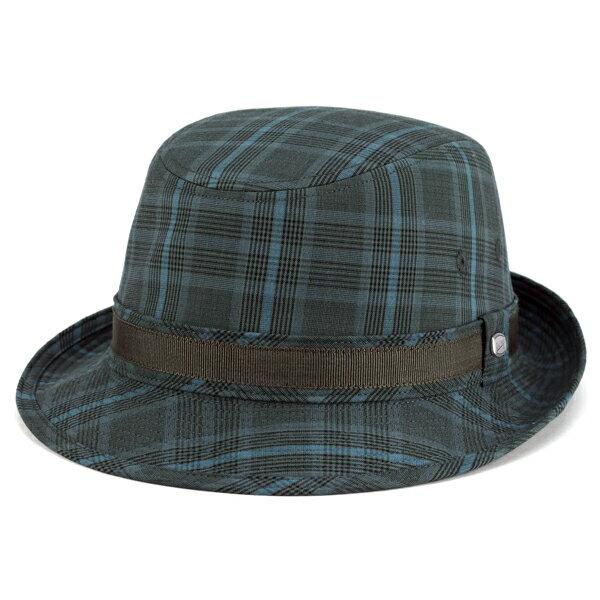 ボルサリーノ 帽子 大きいサイズ ハット アルペン 春夏 2017 borsalino アルペンハット グレンチェック ジニョーネ ハット チェック柄 zignone 紳士 帽子 ブランド ソフト グリーン系 [ alpine hat ] 男性 プレゼント ボルサリーノ 帽子通販 50代 60代 誕生日