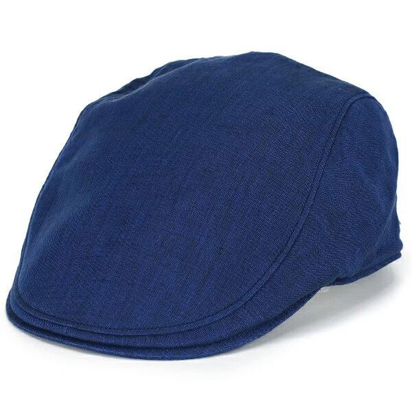 ボルサリーノ 帽子 ハンチング 麻 リネン 大きいサイズ Lサイズ LLサイズ ハードマンズ borsalino ハンチング帽 紳士 春夏 ぼうし 涼しい ナチュラル 紺 ネイビー [ ivy cap ] メンズ帽子 紳士帽子 ハンチング帽子 40代 50代 60代 70代 ファッション 男性 ブランド