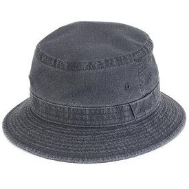 ハット メンズ 春夏 小さいサイズ 大きいサイズ stetson ウォッシュドコットン サハリハット ステットソン 帽子 日本製 折りたたみ可 サファリハット 手洗い可 バケットハット S M L LL 3L 4L 5L サイズ豊富 黒 ブラック [ bucket hat ] stetson 帽子通販