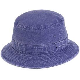サハリハット メンズ 春夏 小さいサイズ 大きいサイズ ステットソン ウォッシュドコットン ハット stetson 帽子 日本製 折りたたみ可 サファリハット 手洗い可 バケットハット S M L LL 3L 4L 5L サイズ豊富 紺 ネイビー [ bucket hat ] stetson 帽子通販