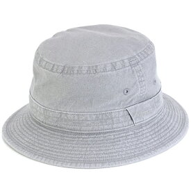 STETSON ハット メンズ 春夏 日本製 小さいサイズ 大きいサイズ ステットソン サハリハット ウォッシュドコットン stetson 帽子 折りたたみ可 サファリハット 手洗い可 バケットハット S M L LL 3L 4L 5L サイズ豊富 灰色 グレー [ bucket hat ] stetson 帽子通販