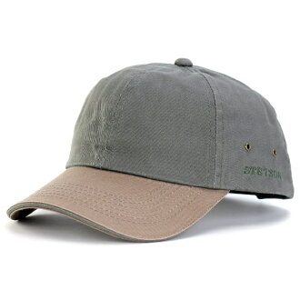 stetson hat cap twill wash processing men Stetson baseball cap two tone oar season hat adjustable size size adjustment magic tape Velcro 2 tone color olive X bronze [cap] stetson hat mail order in the spring and summer