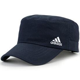 アディダス キャップ メンズ スポーツ adidas 帽子 ワークキャップ 大きいサイズ 57cm 58cm 59cm 60cm 61cm 62cm 63cm cap フリーサイズ マジックテープ サイズ調整 涼しい 夏 サマーキャップ アウトドア 紺 ネイビー [ cadet cap ]