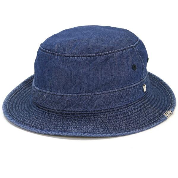ダックス サファリハット インディゴデニム DAKS ハット デニム メンズ サイズ豊富 大きいサイズ 3L 4Lサイズあり daks サハリハット テンセル 帽子 カメラマンハット 日本製 春夏 日よけ 紳士 ハット カジュアル / 紺 ネイビー [ bucket hat ] ギフト プレゼント
