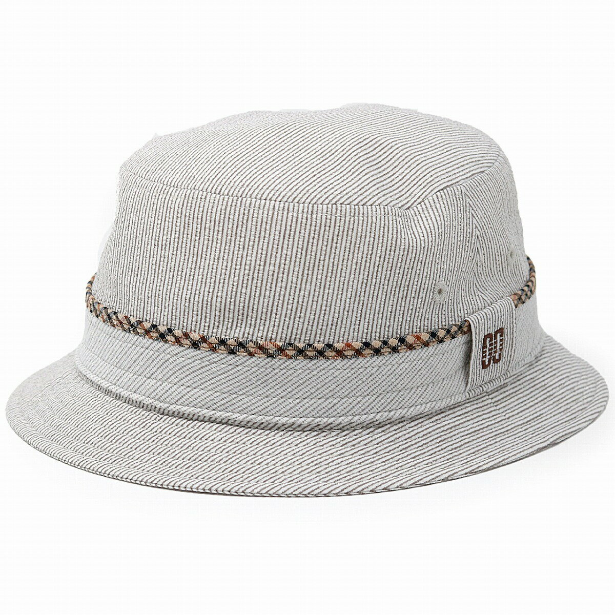 ダックス サファリ ハット サッカー生地 ストライプ 通気性の良い 帽子 daks サハリハット メンズ DAKS 春夏 メッシュ 涼しい 日本製 サッカーストライプ ハット 小さいサイズ 大きいサイズ S M L / ベージュ [ bucket hat ] ギフト プレゼント 帽子通販