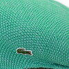 It is a present on gift Respect for the Aged Day in color variations-rich hunting cap hat moss-stitch knit crocodile brand sports pastel color refreshing / emerald green [ivy cap] Father's Day in Lacoste summer made in knit hunting cap men lacoste hat ge