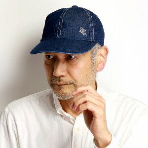 キャップ メンズ 春夏 デニムキャップ レディース 帽子 紳士 野球帽 大きいサイズ M L LL アジャスターサイズ調整 ワッペン ベースボールキャップ 刺繍 シンプル 無地 街歩き 海 キャンプ デニ