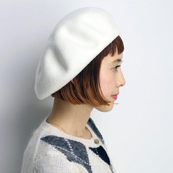 ベレー帽 レディース 帽子 レディス 秋冬 大きいサイズ 国産バスクベレー 大きいトップで耳まですっぽり アイボリー ユニセックス プレゼント ギフト 白 オフホワイト ベレー 上品 日本製 (大きめサイズ ぼうし 大人かわいい カワイイ)