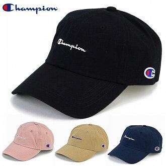 58da8c3a52265 Champion cap black men champion low cap Lady s logo cap Shin pull plain  casual coordinates hat