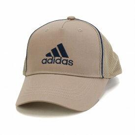 快適 アディダス ツイル キャップ 帽子 メンズ オールシーズン メッシュキャップ スポーツ 大きいサイズ adidas cap サイズ調節 57〜60cm 59〜62cm シンプル ロゴキャップ スポーツブランド / ベージュ [ baseball cap ] 父の日 ギフト プレゼント