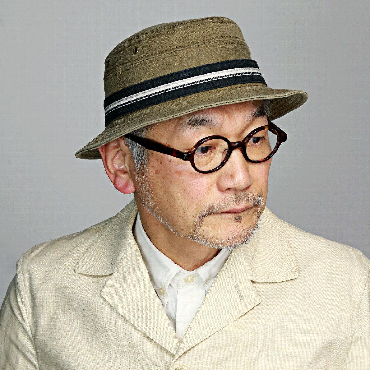 KNOX メンズ 帽子 サハリ ハット 大きいサイズあり 日本製 ジンコード バイオウォッシュ 春夏 ノックス 紳士 サファリ バケットハット レディース アメリカ 有名ブランド XL 60cm 59cm 茶 ベージュ[ bucket hat ]父の日 ギフト プレゼント