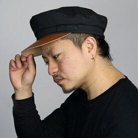 ニューヨークハット 帽子 メンズ 大きいサイズ NEW YORK HAT マリンキャップ 春 夏 キャンバス おしゃれ キャップ 秋まで使える シンプル キャップ マリン レディース 日よけ コットン100 M L XL アメリカ製 黒 ブラック [ marine cap ] ベイカーボーイハット ベーカーボーイ