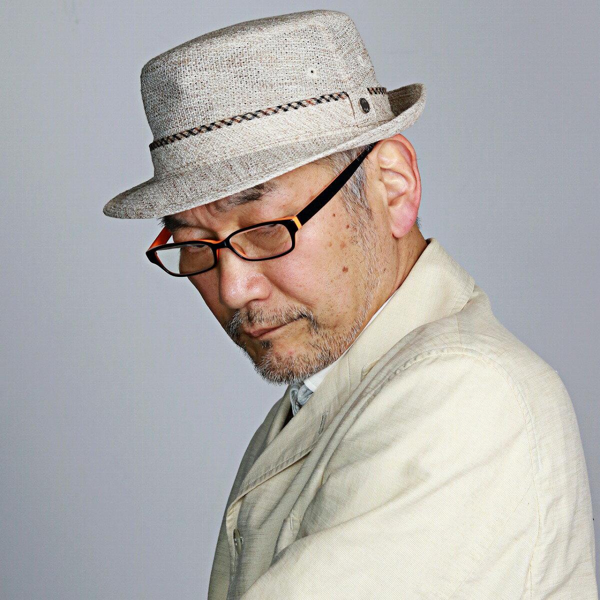 アルペンハット 夏 メンズ ハット 柄 アルペン型 シンプルデザイン ベージュ(おしゃれ メンズ帽子 メンズハット 紳士帽子 40代 50代  60代 70代 ファッション 男性