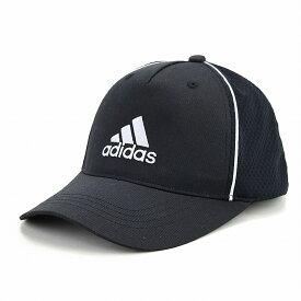 アディダス キャップ ツイル 帽子 メンズ オールシーズン メッシュキャップ スポーツ 大きいサイズ adidas cap シンプル 快適 ロゴキャップ 57〜60cm 59〜62cm サイズ調節 / 黒 ブラック×ホワイト [ baseball cap ] 父の日 ギフト プレゼント