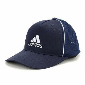 adidas キャップ スポーツ アディダス 帽子 ツイル メンズ オールシーズン メッシュキャップ 大きいサイズ adidas cap シンプル 快適 ロゴキャップ 57〜60cm 59〜62cm サイズ調節 ユニセックス / 紺 ネイビー×ホワイト [ baseball cap ] 父の日 ギフト プレゼント