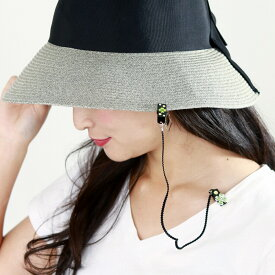 キャップキーパー 帽子が飛ばない 帽子クリップ ぼうし 小物 デコパーツ 刺繍デコパーツ レディース ゴージャス キャップクリップ メール便選択可 [Hat Clip]