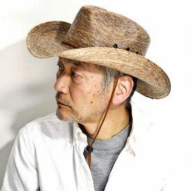 DPC 麦わら帽子 ストローハット メンズ カウボーイハット ドーフマン 春 夏 帽子 つば広 テンガロンハット パームブレード レディース 帽子 シンプル DORFMAN PACIFIC DPC1921 BUCKHORN トースト [ straw hat ][ cowboy hat ]