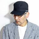 STETSON 春 夏 ワークキャップ ニュートレック・ギア ドゴールキャップ 耐久撥水加工 帽子 アウトドア メンズ ステッ…