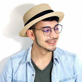 Bailey ポークパイハット 春 夏 ストローハット メンズ 帽子 大きいサイズあり ペーパーブレード 海外 ハット ブランド ベイリー 麦わら帽子 シンプル レディース ペーパーハット インポート M L XL / 黒リボン ベージュ サンド[ straw hat ][ pork-pie hat ]父の日