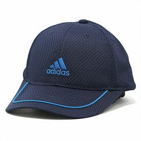 キャップ 涼しい メンズ アディダス スポーツ 帽子 春 夏 adidas メッシュ 6方キャップ レディース メッシュキャップ サイズ調整可能 57cm 58cm 59cm 60cm CAP / 紺 ネイビー [ baseball cap ] 父の日 プレゼント 誕生日 ギフト ラッピング無料