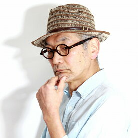 【お得なクーポン配布中】 ストローハット ボーダー ナチュラル GALLIANO SORBATTI 帽子 ブレードハット レディース 中折れ帽子 サーモブレード 中折れハット 紳士 春 夏 イタリア製 マニッシュ メンズ ハット ベージュ [ straw hat ] [ fedora hat ] 父の日 ギフト