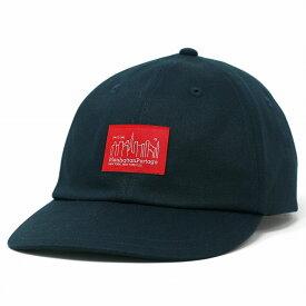 キャップ メンズ ツイル コットン Manhattan Portage マンハッタンポーテージ タグ ロゴキャップ レディース 6パネルキャップ 帽子 サイズ調整 / 紺 ネイビー [ cap ] リンクコーデ 小物 帽子プレゼント ギフト ラッピング無料