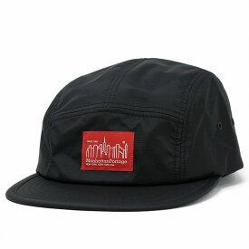 リップストップ ジェットキャップ Manhattan Portage ナイロン メンズ レディース 帽子 マンハッタンポーテージ キャップ 黒 ブラック [ jet cap ] リンクコーデ 小物 帽子プレゼント ギフト ラッピング無料