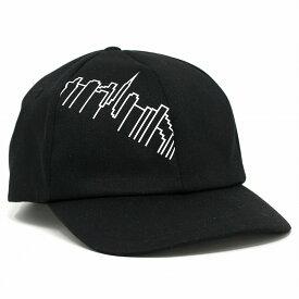 Manhattan Portage ツイル キャップ メンズ マンハッタンポーテージ 6パネルキャップ 柄 ロゴキャップ レディース 帽子 ブランド ユニセックス Skyline Print 20/10ツイル 黒 ブラック [ cap ] リンクコーデ 小物 帽子プレゼント ギフト ラッピング無料