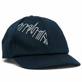 6パネル ツイル キャップ メンズ マンハッタンポーテージ キャップ Manhattan Portage 帽子 柄 ロゴキャップ レディース ブランド ユニセックス Skyline Print 20/10ツイル 紺 ネイビー [ cap ] リンクコーデ 小物 帽子プレゼント ギフト ラッピング無料