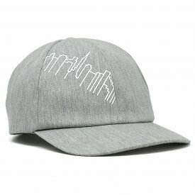 Manhattan Portage キャップ 6パネル ツイル メンズ マンハッタンポーテージ キャップ 帽子 柄 ロゴキャップ レディース ブランド ユニセックス Skyline Print 20/10ツイル グレー [ cap ] リンクコーデ 小物 帽子プレゼント ギフト ラッピング無料
