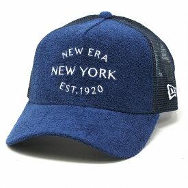 NEWERA メッシュキャップ 帽子 メンズ 9FORTY キャップ レディース 1920 パイル A-Frame ニューエラ キャップ ブランド トラッカー ロゴキャップ / 紺 ネイビー[ baseball cap ]プレゼント 帽子 ギフト プレゼント ラッピング無料