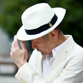 パナマハット 春 夏 CHRISTYS' LONDON クリスティーズ 中折れハット 麦わら帽子 ストローハット イギリス製 帽子 hat メンズ 白 ブリーチ [ panama hat ] 父の日 ギフト プレゼント 紳士帽子 中折れ帽子 40代 50代 60代 70代 ファッション 男性 おしゃれ