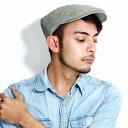 クリスティーズ ハンチング メンズ ヘリンボーン リネン コットン 帽子 春 夏 CHRISTYS' LONDON Ivy cap 海外ブランド…