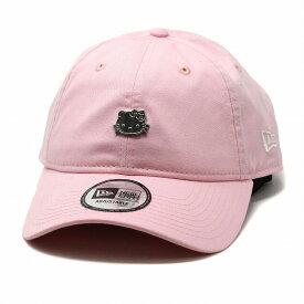 ハローキティ キャップ NEWERA 帽子 レディース 9THIRTY CAP キティー ニューエラ メタル キャップ B.Bキャップ かわいい キティーちゃん / ピンク[ baseball cap ]ニューエラ オールシーズン cap ブランド