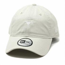 ニューエラ キャップ ミニロゴ CAP 9THIRTY NEWERA キャップ メンズ 帽子 クロスストラップ カクテル 刺繍 ロゴキャップ レディース ユニセックス フリーサイズ サイズ調整 / グレー系 ストーン[ baseball cap ]ニューエラ オールシーズン cap ブランド