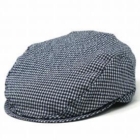 ハンチング帽 WIGENS メンズ ギンガムチェック 帽子 大きいサイズ ライニング メッシュ ヴィゲン IVY SLIM CAP インポート 春夏 ヴィーゲン ハンチング ギンガムチェック[ ivy cap ]プレゼント 男性 父の日 ギフト ラッピング無料