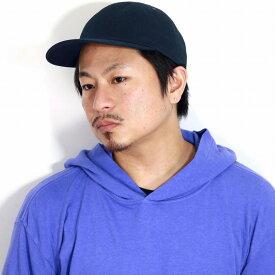 ラカル 8パネルキャップ racal キャップ 帽子 メンズ キャップ メンズ コットンツイル 日本製 CAP キャップ レディース ナチュラル サイズ調節可能 スタンダード 牛革 / 紺 ネイビー[ cap ]