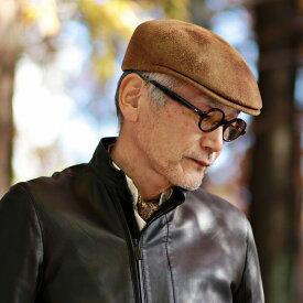 ガリアーノソルバッティ イタリア製 ハンチング 焦がし加工 GALLIANO SORBATTI 帽子 メンズ ヴィンテージ風 ハンチング帽 紳士 アイビーキャップ レディース 個性的 帽子 ユニセックス フェルト素材 送料無料 ベージュ系[ ivy cap ]