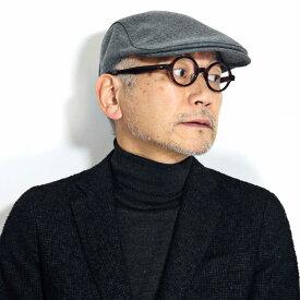 ハンチング メンズ DAKS ウール100% 帽子 ダックス ハンチング帽子 アイビーキャップ 毛 紳士帽子 秋 冬 日本製 高品質 グレー[ ivy cap ]daks 帽子 通販 男性 プレゼント 誕生日 ギフト 父の日