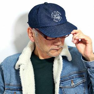 [全品10%OFFクーポン] シナコバ キャップ メンズ デニム 帽子 大きいサイズ キャップ SINACOVA ネイビー 帽子 オールシーズン プレゼント 日よけ キャップ 紺 [ cap ] マリン キャップ シナコバ ゴル