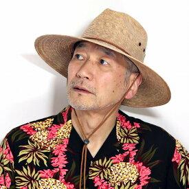 ストローハット メンズ 麦わら帽子 日よけ 帽子 つば広 あご紐付き ドーフマンパシフィック ハット ツバ広 帽子 紫外線対策 麦わら 中折れハット 紳士 ファッション アウトドア / トースト [ straw hat ][ cowboy hat ] DORFMAN PACIFIC 帽子通販 カリフォルニア ハット
