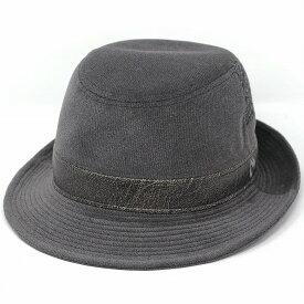 ハット 秋冬 アルペンハット Milaschon ミラショーン コーデュロイ生地 コーデュロイ 日本製 帽子 メンズ コール天 ブランド 紳士ハット イタリア チャコールグレー [ alpine hat ] 送料無料 プレゼント 50代 60代 男性 帽子 通販 ELEHELM