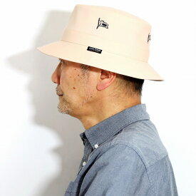 SINACOVA サファリハット レディース 日本製 春夏 日よけ帽子 マリン ハット メンズ サファリハット 紳士 上品 コットン 軽い シナコバ マリンブランド 手洗い可 帽子 ピンク [ bucket hat ] 父の日 ギフト プレゼント