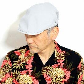 ミラショーン ハンチング 麻 帽子 春 夏 ハンチング 無地 メッシュ シンプルなデザイン 涼しい 通気性が良い グレー [ ivy cap ] ギフト プレゼント 父の日 贈り物 ギフト包装