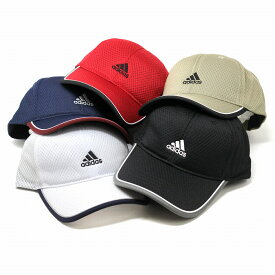 adidas キャップ メンズ メッシュ 帽子 日よけ 涼しい 通気性が良い 洗濯可能 色褪せしにくい 吸汗速乾 ベージュ ブラック ホワイト カレッジネイビー レッド[ baseball cap ]父の日 プレゼント adidas 帽子 通販 誕生日 ギフト ラッピング無料